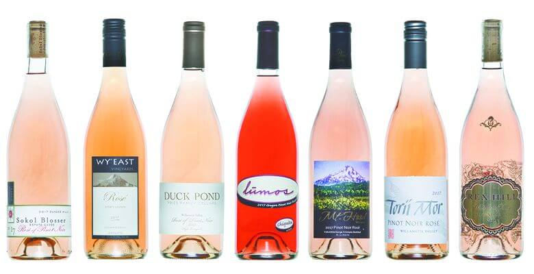 Oregon Rose Wine