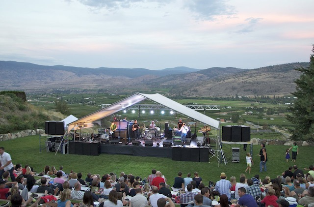 Sloan Closes Concert Season at Tinhorn Creek Winery