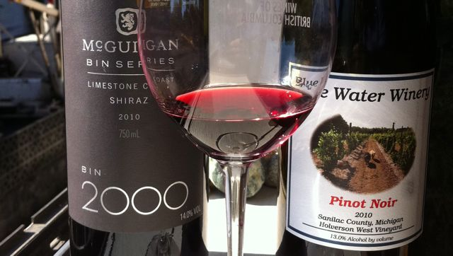 Blue Water winery, McGuigan wines, blend of the week, tastingroomconfidential.com