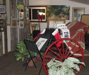 Quail's Roost Art Gallery at tastingroomconfidential.com/piano-lessons-at-rustico-farm-cellars