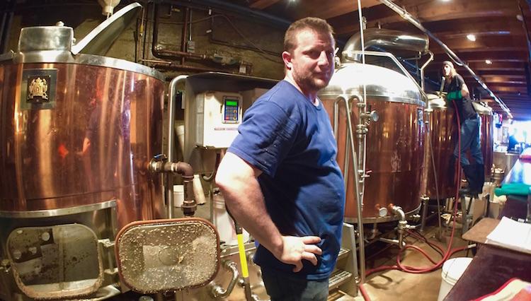 Brewmaster Tony Gratel