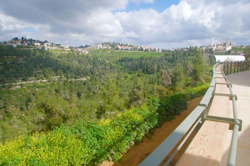 Domain du Castel view