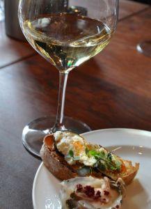 chardonnay crostini