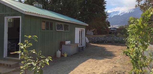 oliver fire 7 shack