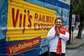 Vikram Vij with truck