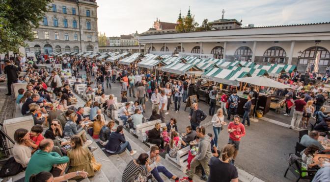 Odprta Kuhna food market – Ljubljana, Central Slovenia