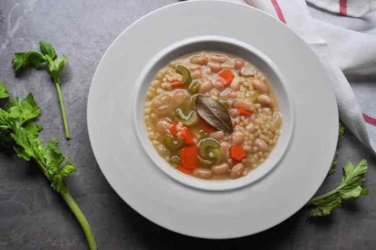 Brothy Beans & Pasta