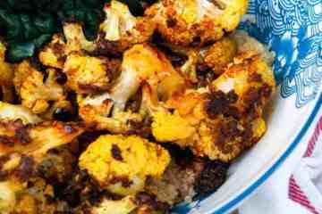 Curried Cauliflower Bowls