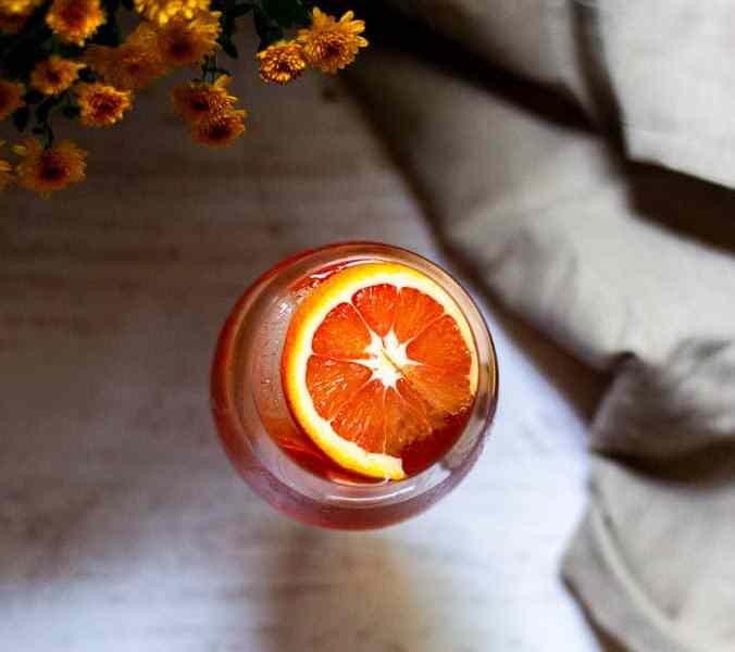 Cozy Autumn Spritz Cocktail Recipe