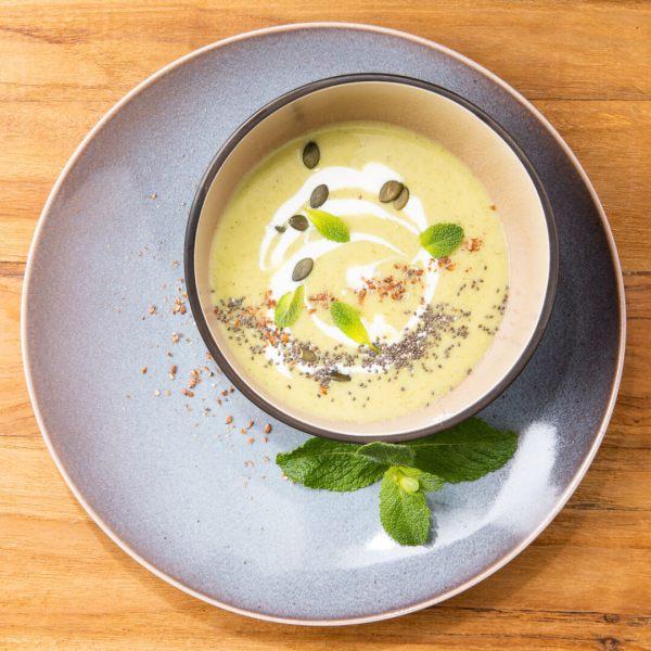 Zucchini Kokos Suppe