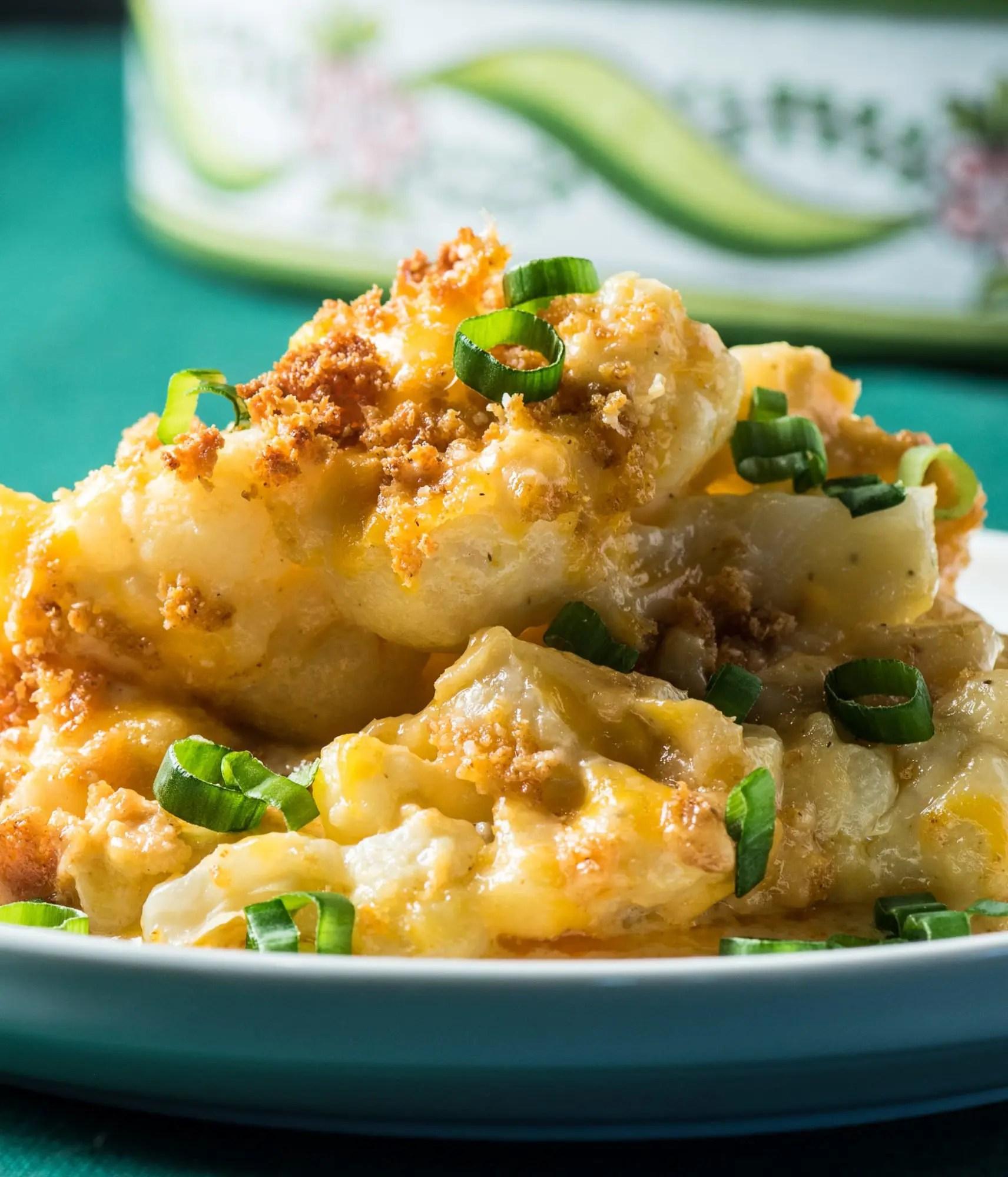 Low Carb Cauliflower Au Gratin - Tasty Low Carb
