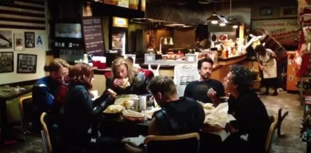 Avengers Shawarma shot