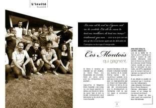 «Ces montois qui gagnent» (Interview, Press Officer, Fishing Cactus, 2012)