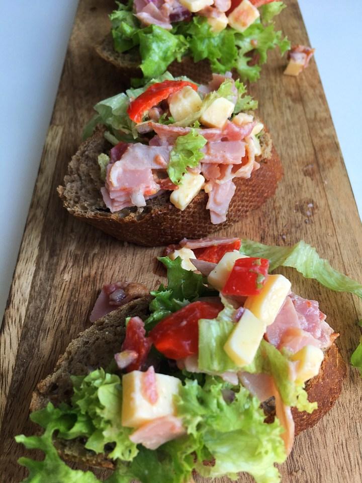 Bruschetta Sandwichstyle