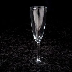Add a champagne glass to your bouquet or hamper