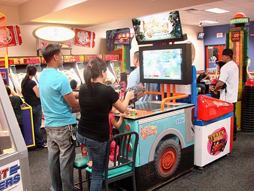 Chuck E Cheese Arcade Room