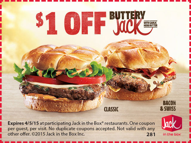 Jack In The Box New Buttery Jack Tasty Island
