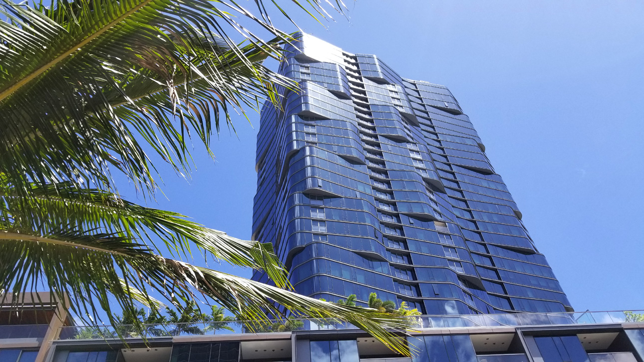 The new Anaha condominium