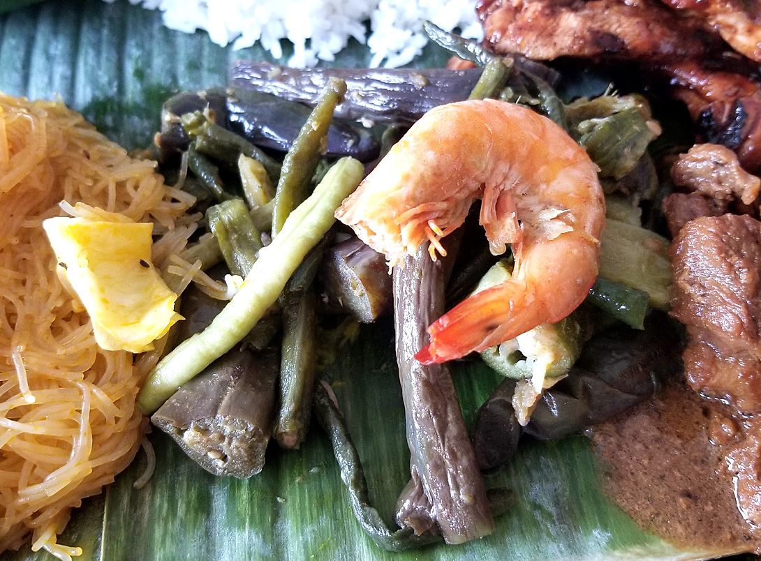 Pinakbet at a Kamayan Lunch