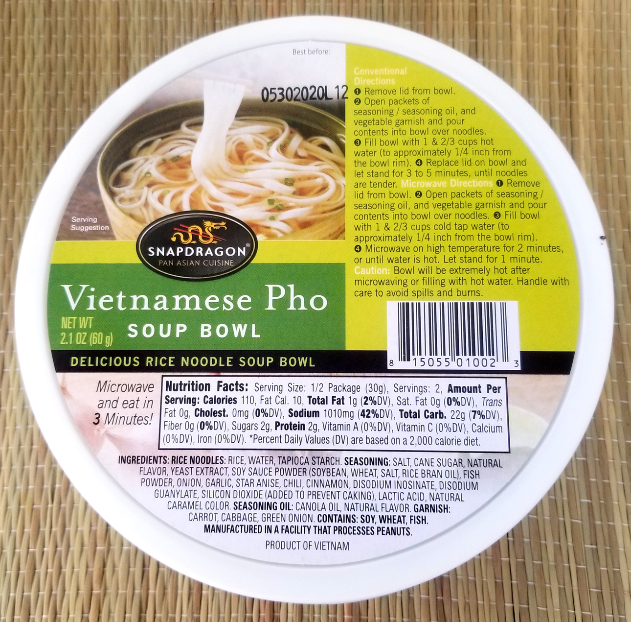 Costco Eats: Snapdragon Vietnamese Pho – Tasty Island