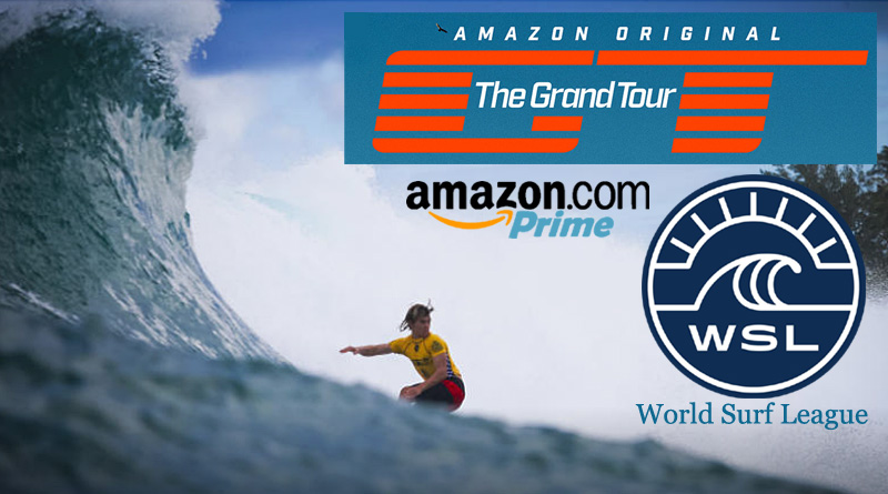 World Surf League Amazon Prime Event