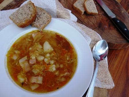 Polnische Sauerkraut Suppe