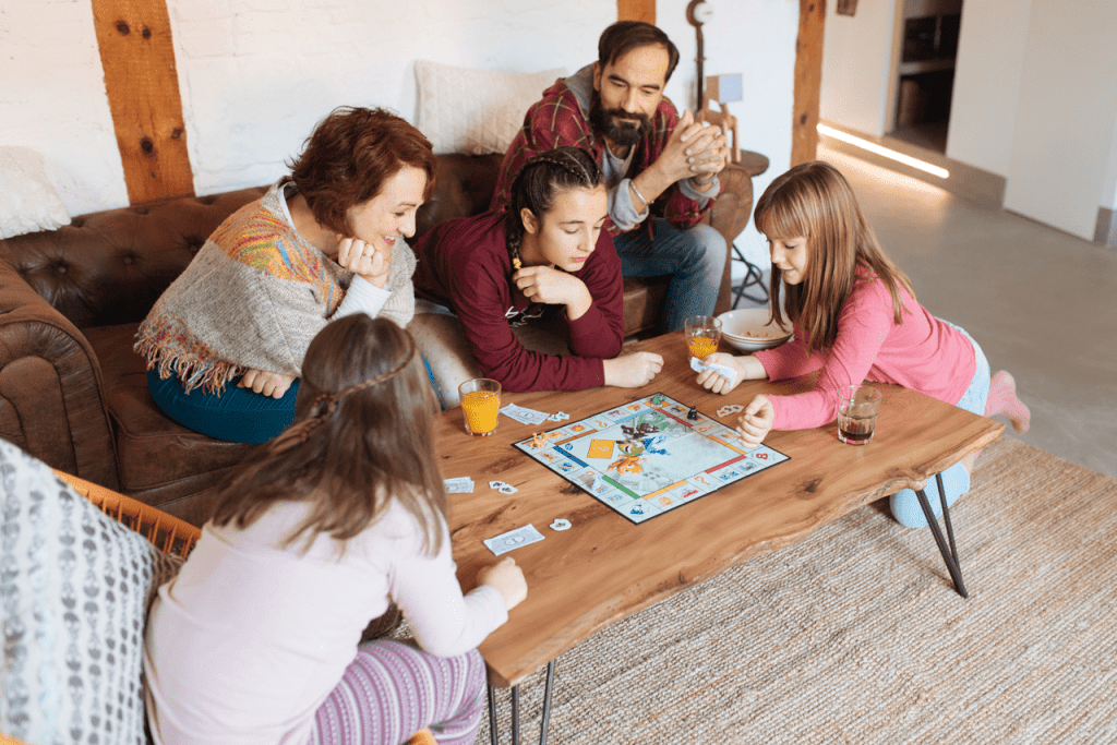 It's time to bring out the board games!