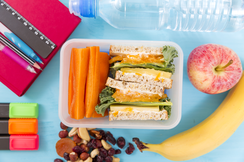 Brain booster lunchbox ideas for the new year