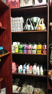 carriers, shampoo, medicine