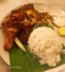 Nasi Lemak Ayam Goreng at Village Park Restaurant