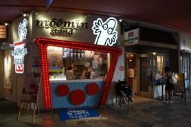 Moomin Cafe take away corner