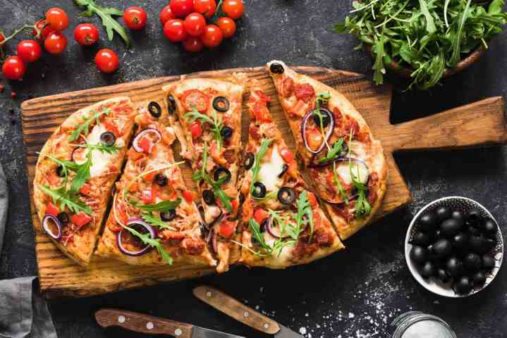 pizza flatbread