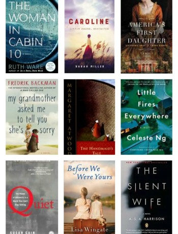 Fall Reading List - the weather is cooler and it's time to cozy up with a good book.  Here is my list of favorite must-read titles! | tastythin.com
