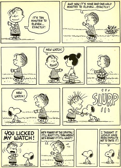 My favourite comic strip - Peanuts (5/6)