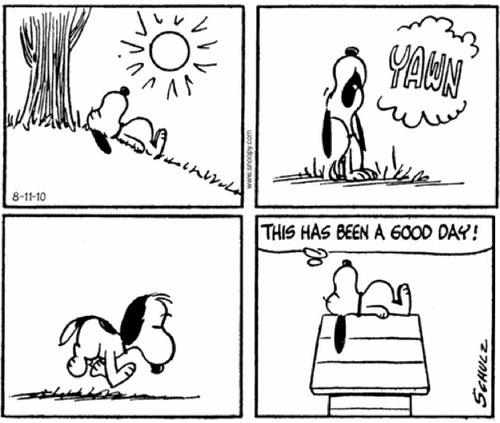 My favourite comic strip - Peanuts (3/6)