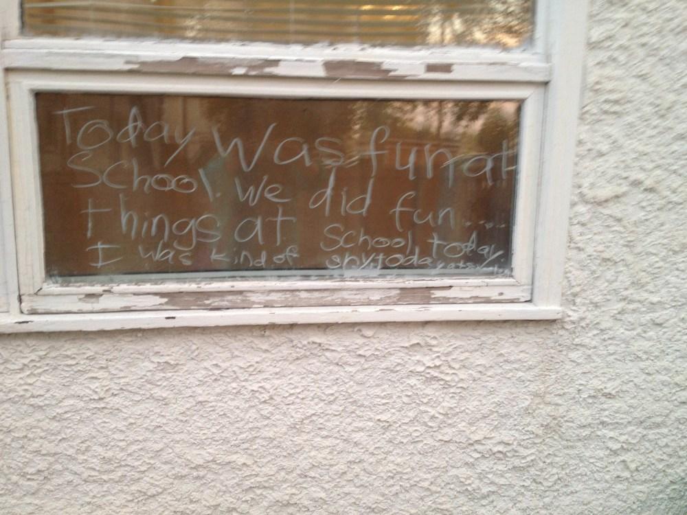 Window Writer & Artiste - My Catharsis (3/6)