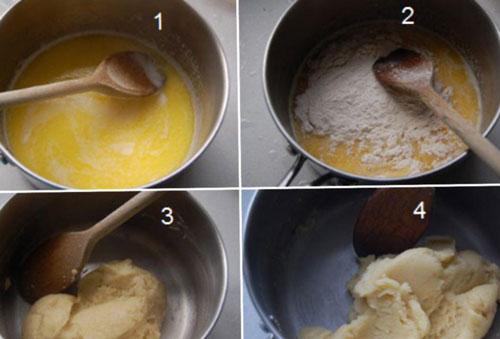 طرز تهیه نان خامه ای مثل بازاری