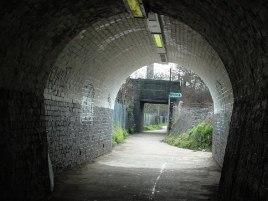 Tunnel under the railway line