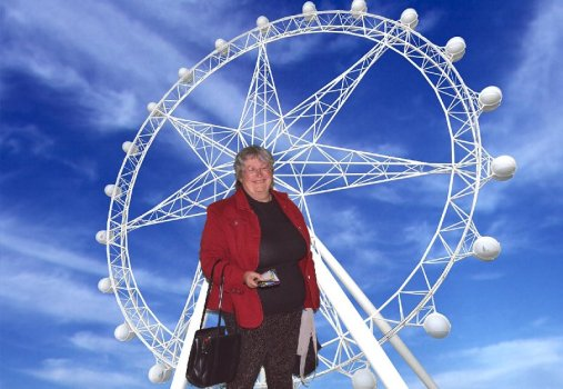 The Melbourne Star Observation Wheel was fun.