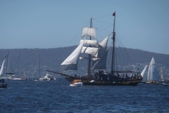 Windeward Bound, Hobart