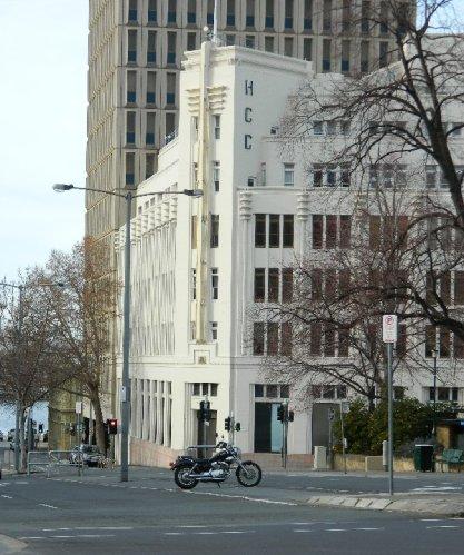 The wonderful Hobart City Council building in Elizabeth Street