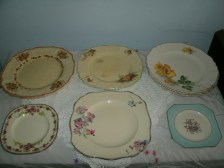 Some of these old dishes belonged to my grandmother.