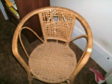 Child's Cane Chair