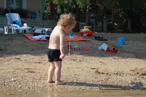 Igra u pijesku od jutra do navečer