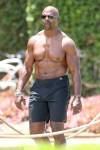 Actor Terry Crews Shows Off His Awesome Physique As He Turns 50th
