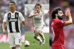 Fifa's Best Player: Ronaldo, Modric and Salah in Final Three