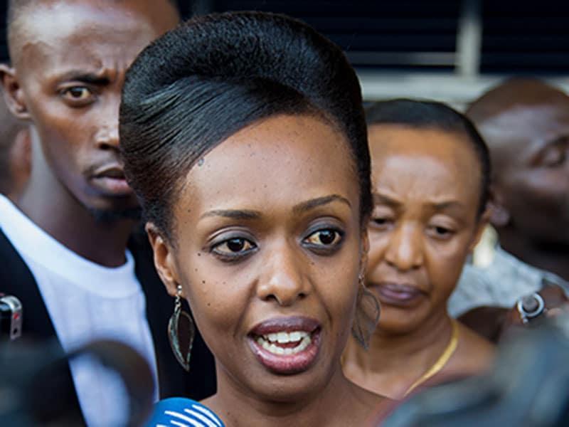 Rwanda demands 22 year jail term for Kagame critic, Diane Rwigara