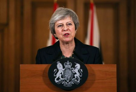 UK's May Sees 'No Alternative' to her Brexit Plan