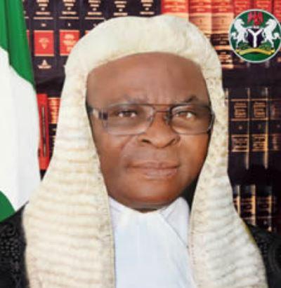 Nigeria chief justice Walter Onnoghen