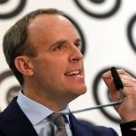 Vote against May's Brexit agreement, Raab urges MPs